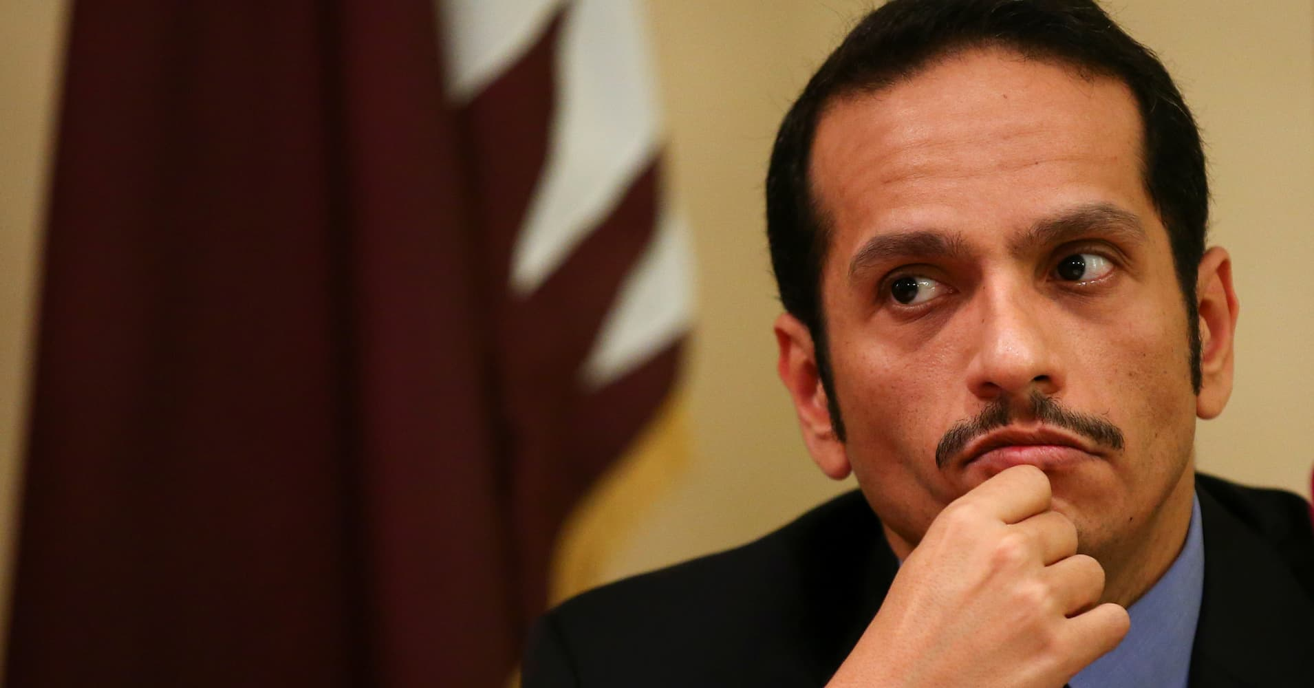 Qatar is 'counting on' Kuwait and other allies to resolve Gulf crisis, foreign minister says