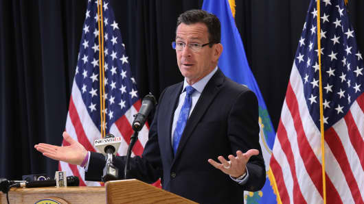 Tax hikes, corporate flights and an ongoing trend of economic migration away from the state have deemed Connecticut Gov. Dannel Malloy one of the least popular governors in the nation.