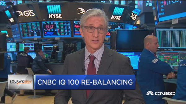 Oracle and Microsoft lead tech stocks in CNBC's IQ 100 index
