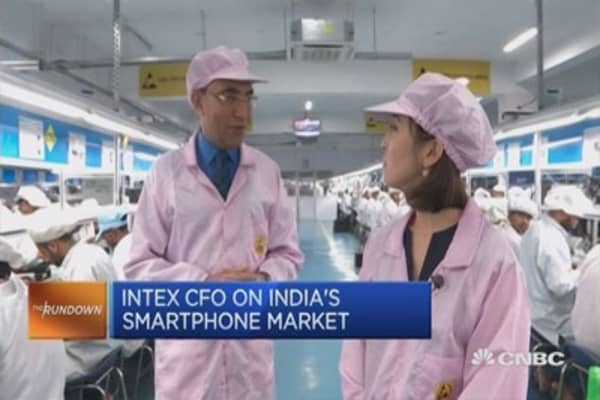 How local smartphone maker Intex is 'Making in India'