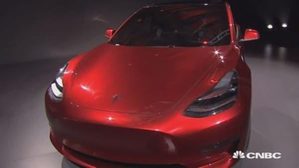 Elon Musk announces release date for Tesla's mass-market Model 3