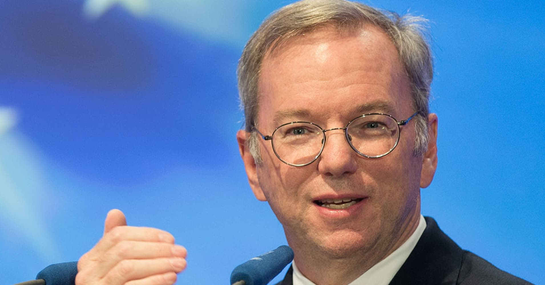 Chairman of Alphabet Eric Schmidt