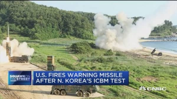 North Korea's missile test creates tension with China and the US ahead of G20 summit