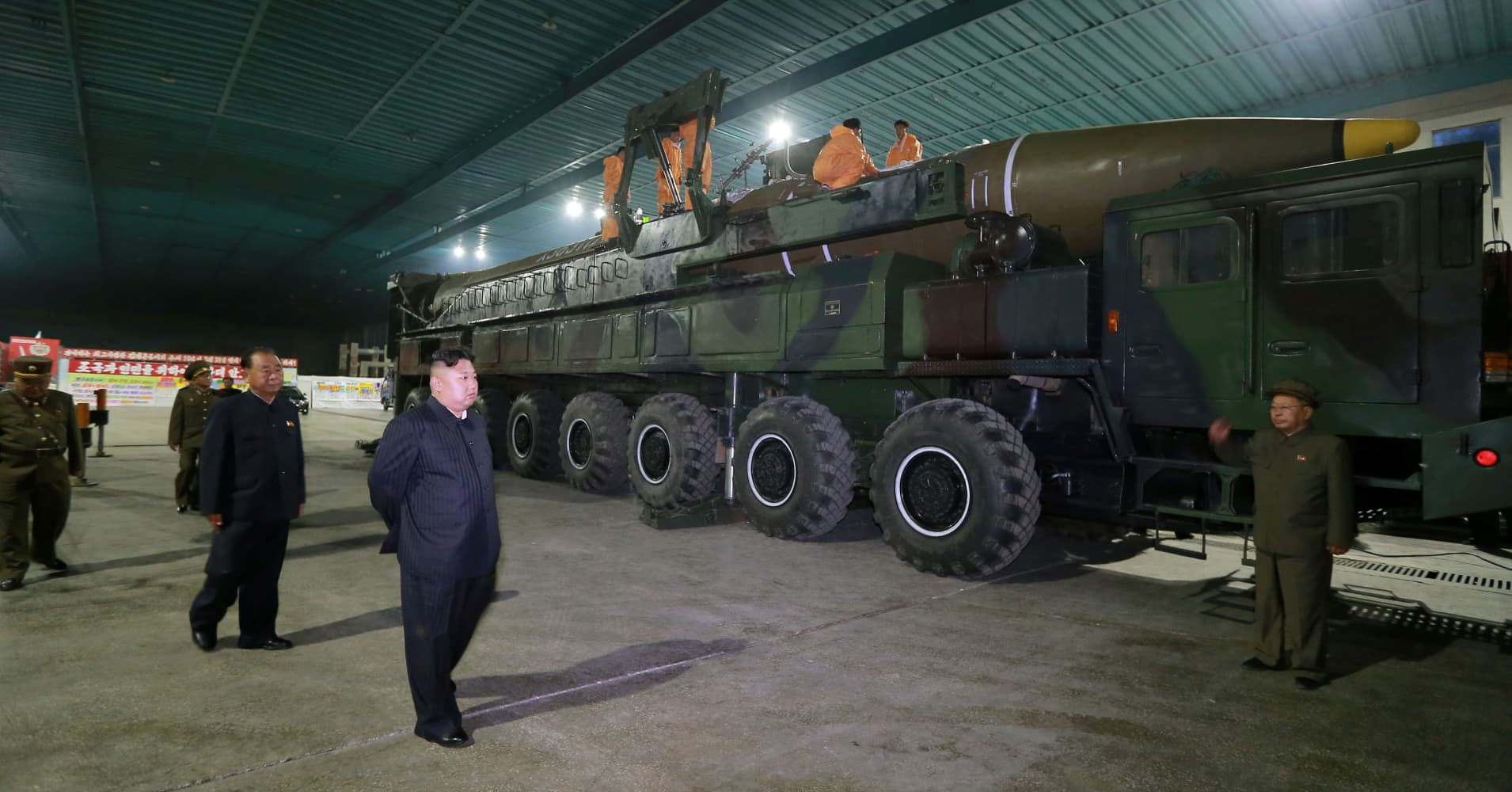 Trump administration takes more steps to crack down on North Korea's nuclear weapons development