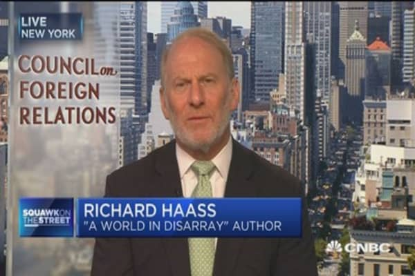 Richard Haas: All options toward North Korea are 'all pretty poor'