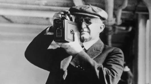 George Eastman, Founder of the 'Eastman Kodak Company.