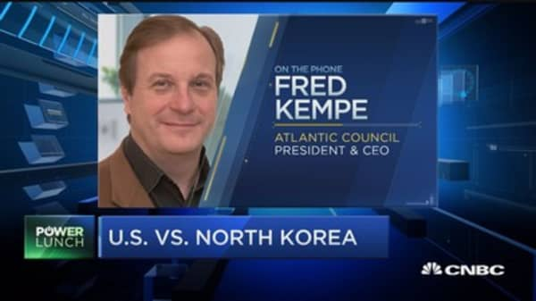 Missile test puts more pressure on Trump to pressure China: Atlantic Council's Fred Kempe