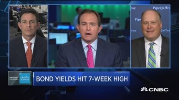 Trading 10-year bonds