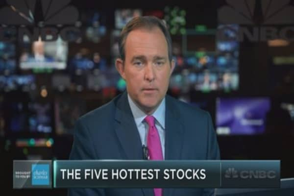 Trading this year's five hottest stocks