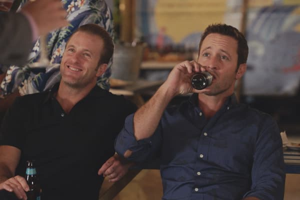 Scott Caan as Danny 'Danno' Williams and Alex O'loughlin as Steve McGarrett on CBS' 'Hawaii Five-O'