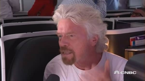 Possibility of hard Brexit has gone away: Richard Branson