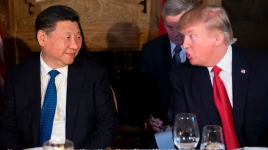 Is the honeymoon already over for Chinese President Xi Jinping and U.S. President Donald Trump?