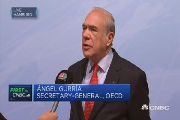 Global economy 'better but not enough': OECD Secretary-General