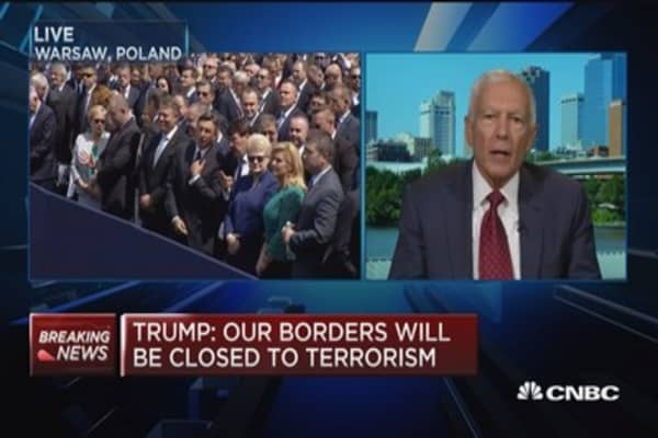 Gen. Wesley Clark: Trump trying to put US back in leadership role in Europe