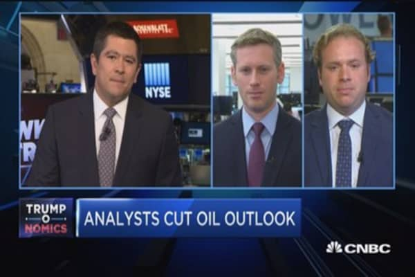 Analysts cut oil outlook amid OPEC production cuts
