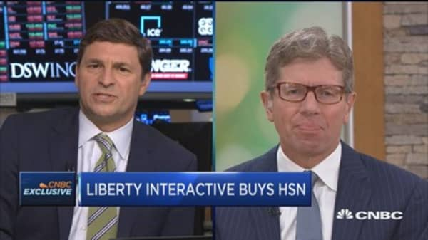 QVC CEO's Mike George: Why now was the time to join forces with HSN