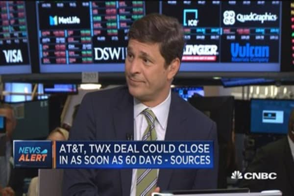 Time Warner-AT&T deal could close as soon as 60 days: Sources