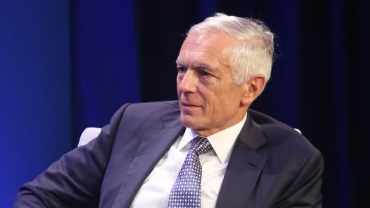 Former NATO Supreme Allied Commander Wesley Clark speaks during the 2015 Clinton Global Initiative annual meeting