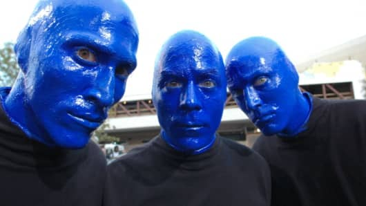 Cirque du Soleil shells out the green, buys Blue Man Group