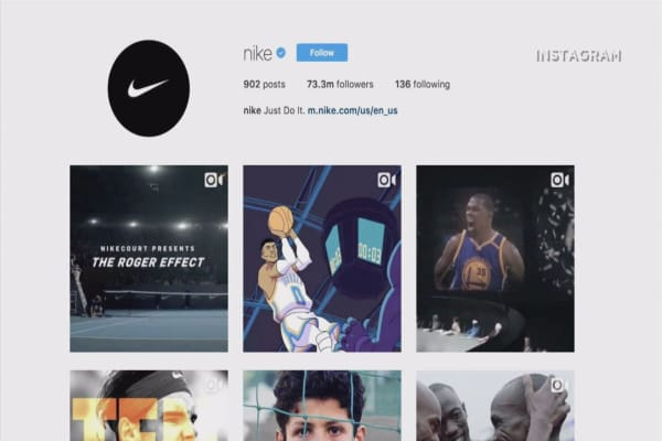 Nike's plan to sell shoes via Instagram could spark a 20% rally in the stock, analyst says