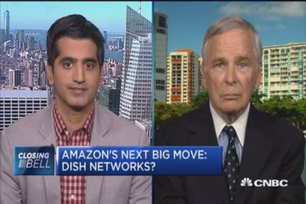 Amazon and Dish Network full merger 'unlikely': WSJ's Amol Sharma