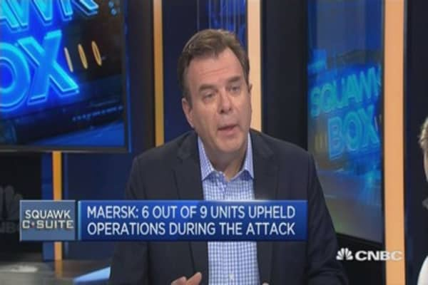 Maersk hit by Petya cyber attack: APAC CEO