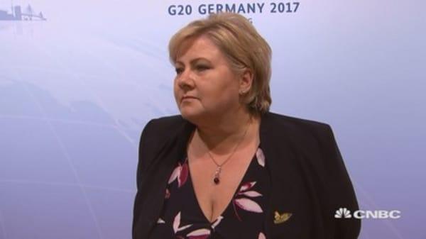 UK not following 'Norwegian solution': Norwegian Prime Minister