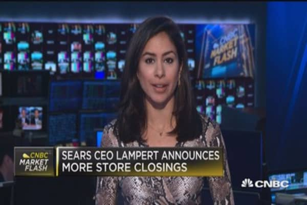 Sears CEO announced more store closings