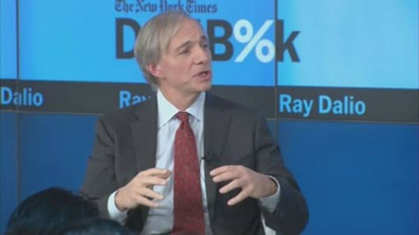 Ray Dalio, manager of world's biggest hedge fund, says 'keep dancing' but party ending soon
