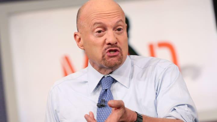 "Jim Cramer on ""Mad Money."""