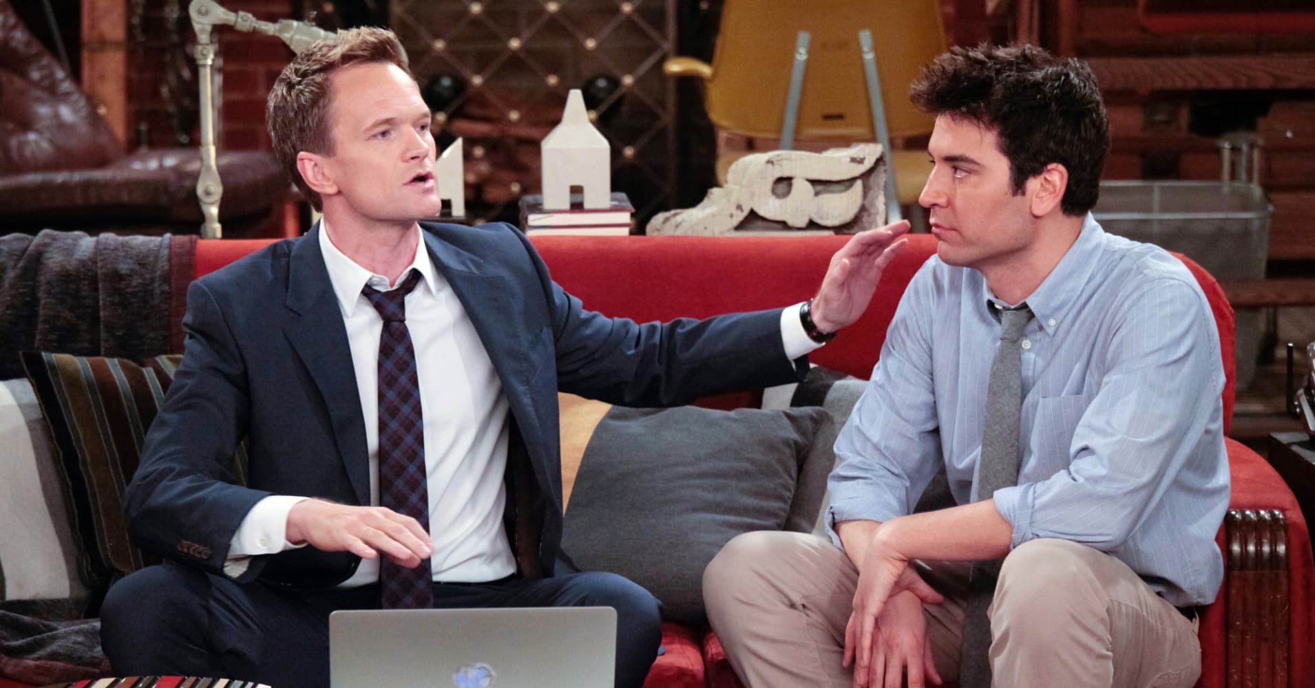 """Neil Patrick Harris and Josh Radnor in an episode of """"How I Met Your Mother."""""""