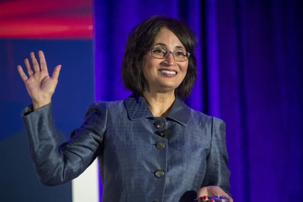 Padmasree Warrior, CEO of NIO U.S.