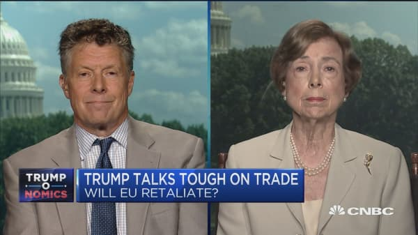 Europe's mood 'increasingly combative' with US over trade
