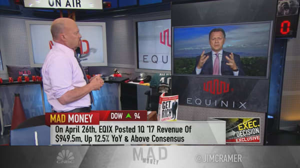 Equinix CEO: How my data center REIT serves clients like Burger King