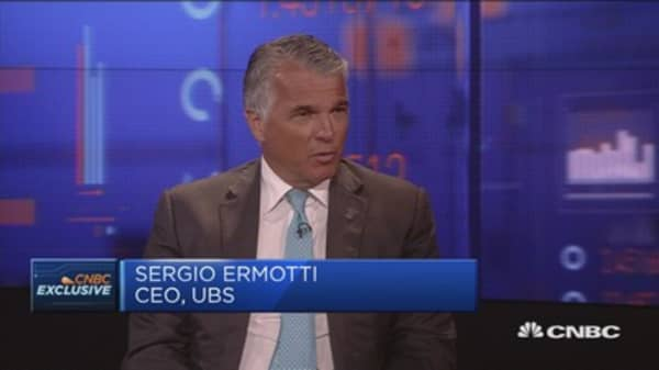 Bail in politically unacceptable: UBS' Ermotti