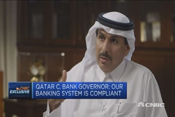 Our books are open says Qatar central bank governor
