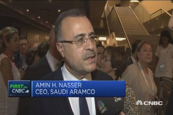 Oil investments not good enough over long term: Saudi Aramco CEO