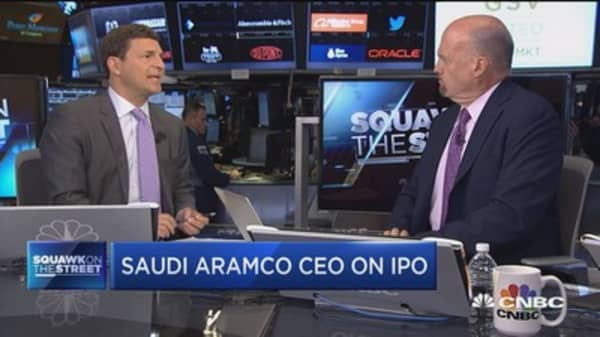 I don't understand Saudi Aramco's plans to go ahead with IPO: Jim Cramer