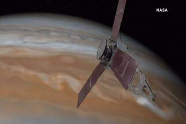 NASA spacecraft to fly over 'Eye of Jupiter' for first time in history