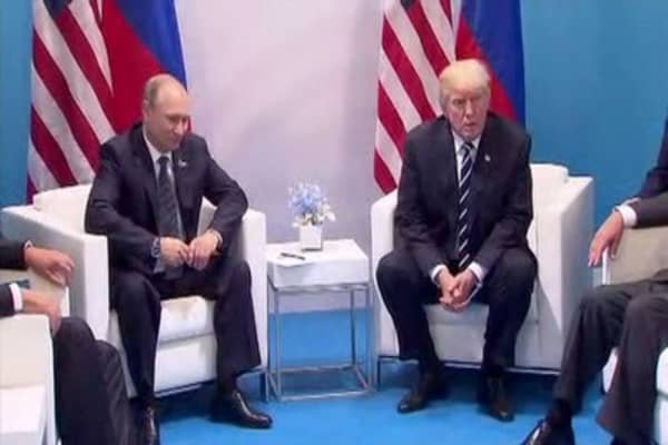 Trump on his 'impenetrable' cybersecurity unit with Putin: I didn't mean it