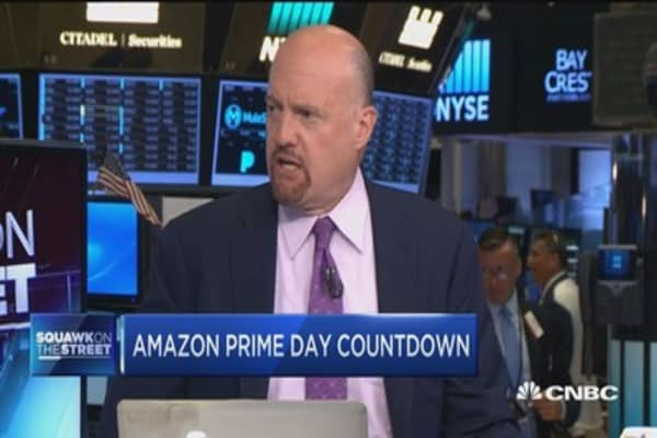 Cramer: Two stocks that could really be winners on Amazon Prime Day