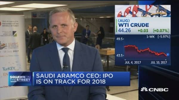 Saudi Aramco CEO: Worried about long-term oil supply
