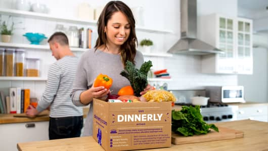 Dinnerly Meal Kit Box from Marley Spoon