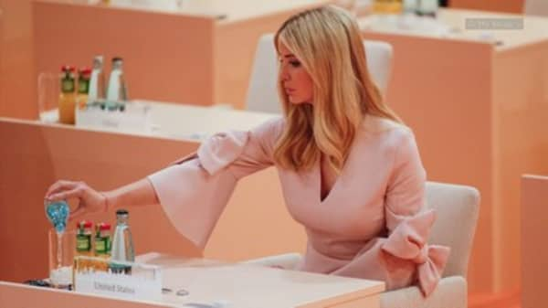 Trump defends daughter Ivanka's seat at G-20 table
