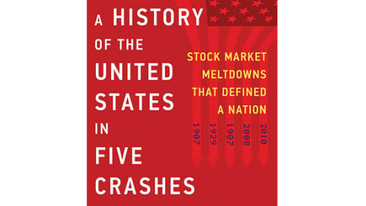 Book cover A History of the US in Five Crashes