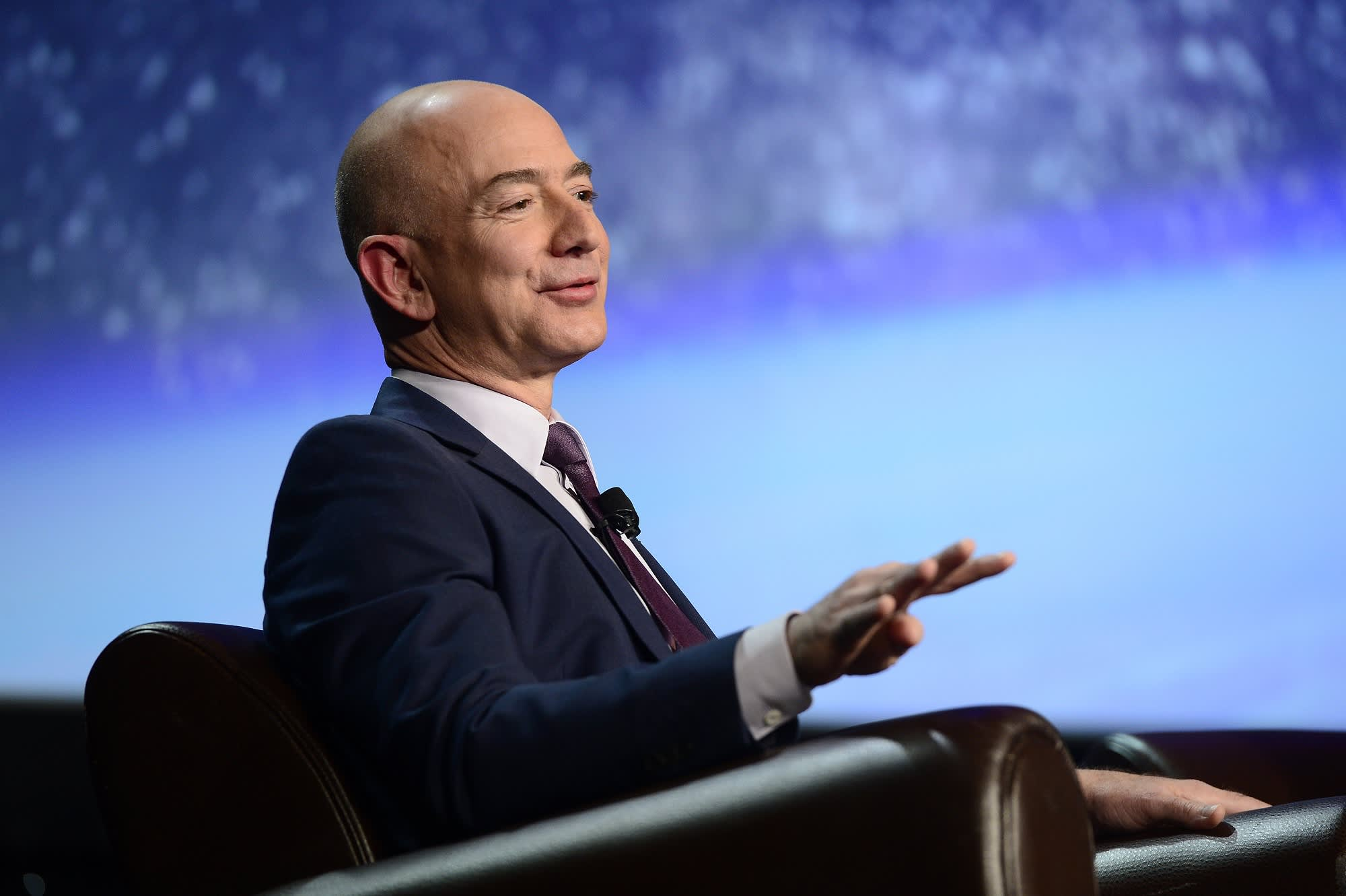 Morgan stanley is bullish on amazon and sees 1 trillion market cap jeff bezos founder and ceo of amazon biocorpaavc Images