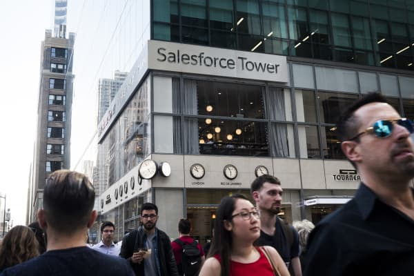 SALESFORCE EARNS