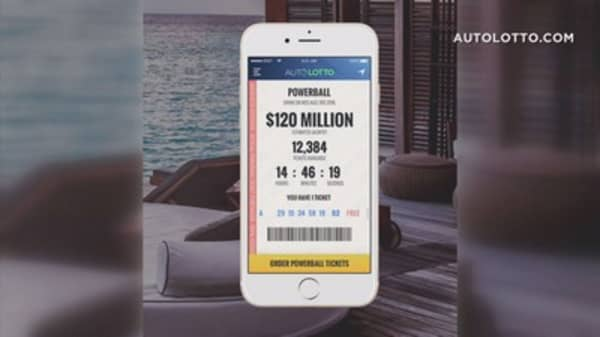 Millennials rarely buy lottery tickets, but a mobile Powerball app wants to reel them into the game
