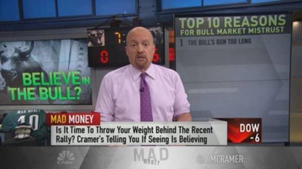 Why Wall Street mistrusts the bull market