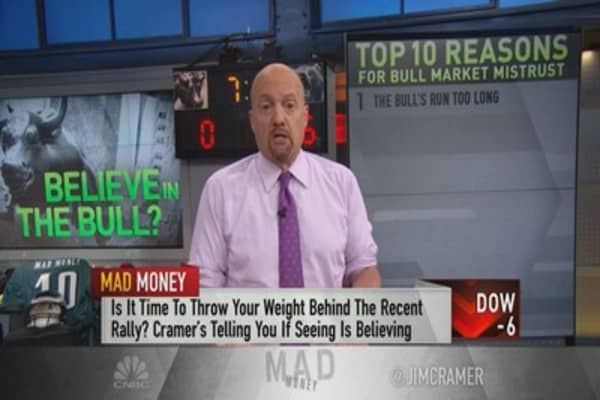 Why Wall Street mistrusts the bull market